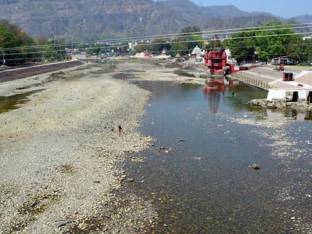 River Ganges in Haridwar