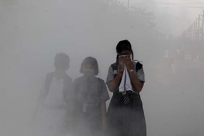 Worsening quality of air in Delhi could be a major cause for the spike in COVID-19 infections