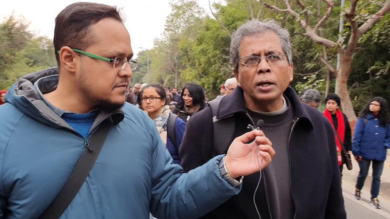 Professor Soumyabrata Choudhury speaks to The New Leam