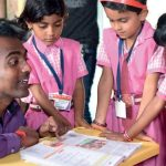 Ranjitsinh Disale at the Zila Parishad School in Solapur District, Maharashtra wins a prestigious award for working for the education and empowerment of tribal female students. Photo Credit: Mumbai Mirror