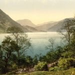 Ullswater from Gowbarrow Park in the Lake District where the Wordsworth walked often. Wikimedia