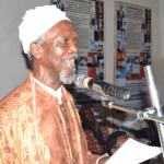 Chukwuemeka Ike at a book reading. Izunna Okafor/National Light