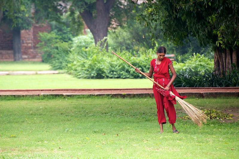 Maid,Domestic Helper, Servant or Worker: