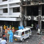 Vijayada Hotel Serving as COVID-19 Care Centre Catches Fire Killing 10 and Injuring Several Others