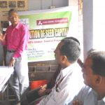 An ongoing session at the Nav Bharat Jagriti Kendra
