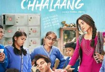 The official poster of the film Chhalaang