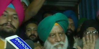President of Bharatiya Kisan Union Balbir S Rajewal