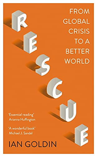 """The cover of the book '""""Rescue: from global crisis to a better world""""."""