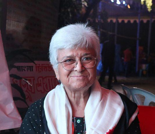 Activist Kamla Bhasin/Photo Credit: Wikimedia Commons